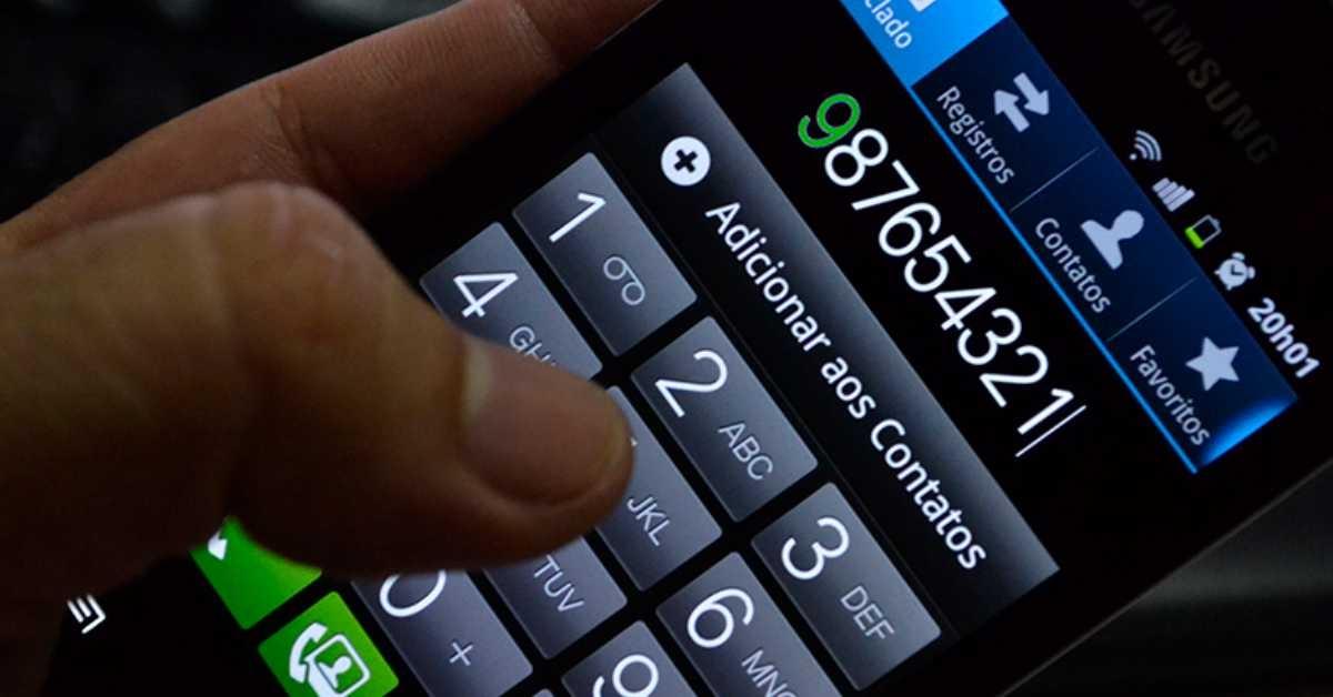 Números de celular terão nono dígito a partir de domingo no Sul